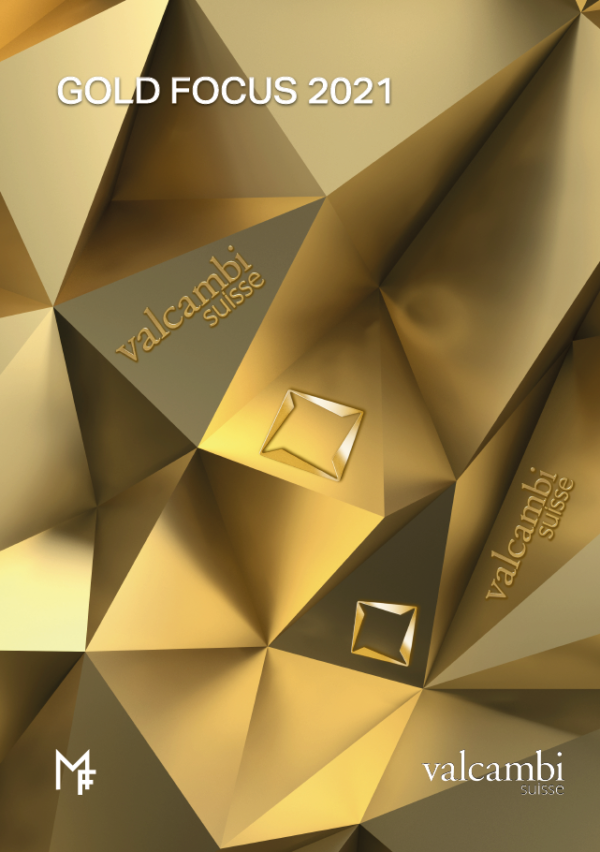 Gold Focus 2021 cover angled images of gold